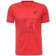 Футболка волейбольная мужская Asics Ss Tee Indoor (красный)