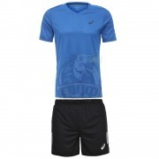 Форма волейбольная мужская Asics Ss Tee Indoor (голубой)