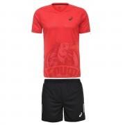 Форма волейбольная мужская Asics Ss Tee Indoor (красный)