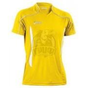 Форма волейбольная мужская Asics T-Shirt Volo (желтый/черный)