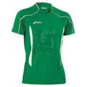 Форма волейбольная мужская Asics T-Shirt Volo (зеленый/черный)