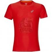 Футболка спортивная мужская Asics Ss Top (красный)