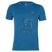 Футболка спортивная мужская Asics Stride Ss Top (синий)
