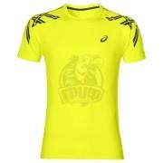 Футболка спортивная мужская Asics Stripe Ss Top (желтый)