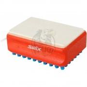 Щётка для подготовки лыж Swix F4 комби (нейлон синий/фетр)