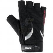 Перчатки для лыжероллеров мужские Swix Half Cruiser (черный)