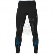 Тайтсы спортивные мужские Asics Stripe Tight (черный/синий)