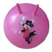 Мяч-попрыгун детский с рожками 55 см