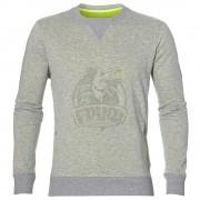 Толстовка спортивная мужская Asics Fuzex Crew Top (серый)