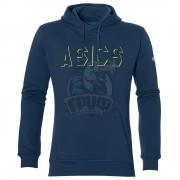 Толстовка спортивная мужская Asics Gpx Hoody (синий)