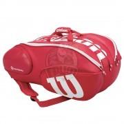 Чехол-сумка Wilson Blade Vancouver на 15 ракеток (красный)