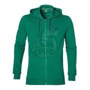 Джемпер спортивный мужской Asics Graphic Fz Hoody (зеленый)