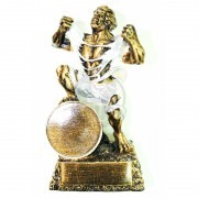 Кубок сувенирный Халк HX-1751-B6 (серебро)