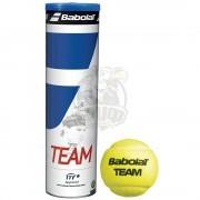 Мячи теннисные Babolat Team x4 (4 мяча в тубе)