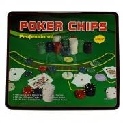 Набор для игры в покер в коробке на 500 фишек