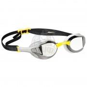 Очки для плавания тренировочные Mad Wave Alien Mirror (желтый)