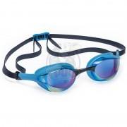 Очки для плавания тренировочные Mad Wave Alien Rainbow (синий)