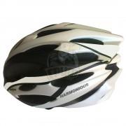 Велошлем Senhai (черный/серебристый)