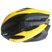 Велошлем Senhai (черный/желтый)
