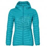 Куртка спортивная женская утепленная Asics Padded Jacket (синий)