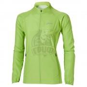 Куртка спортивная женская Asics Woven Jacket (зеленый)