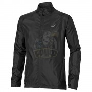Куртка спортивная мужская Asics Woven Jacket (черный)