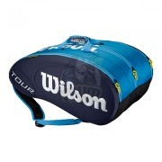 Чехол-сумка Wilson Tour Molded на 15 ракеток (синий)