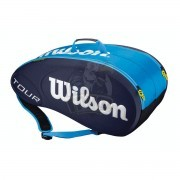 Чехол-сумка Wilson Tour Molded на 9 ракеток (синий)