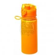 Бутылка (сититерм) силиконовая Tramp 500 мл (оранжевый)