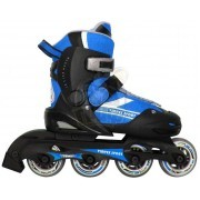 Роликовые коньки раздвижные Vimpex Sport (черно-синий)