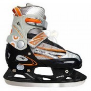 Ролики раздвижные cо сменными рамами Vimpex Sport (оранжевый)
