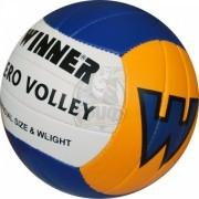 Мяч для пляжного волейбола тренировочный Winner Aero (синий/желтый)
