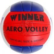 Мяч для пляжного волейбола тренировочный Winner Aero (красный/синий)