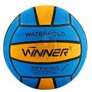 Мяч для водного поло тренировочный Winner №3 (синий/желтый)