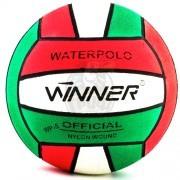 Мяч для водного поло тренировочный Winner №4 (зеленый/красный)