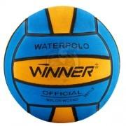 Мяч для водного поло тренировочный Winner №4 (синий/желтый)
