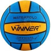 Мяч для водного поло тренировочный Winner №5 (синий/желтый)