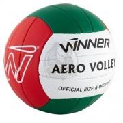 Мяч для пляжного волейбола тренировочный Winner Aero (зеленый/красный)