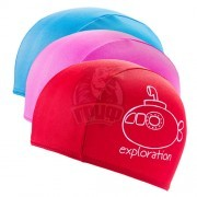 Шапочка для плавания детская Fashy Polyester Kids Printed Cap
