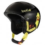 Шлем подростковый Bolle B-Kid 308 Shiny Black Robot