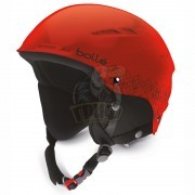 Шлем подростковый Bolle B-Rent Jr 308 Shiny Red & Black