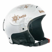 Шлем женский Bolle Stomp 301 Shiny White Snow Jewel