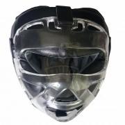 Шлем для единоборств с защитной маской Everfirst кожа