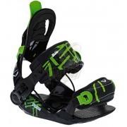 Крепление для сноуборда детское SP Kiddo Black/Green