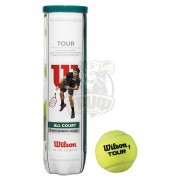 Мячи теннисные Wilson Tour All Court (4 мяча в тубе)