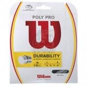 Струна теннисная Wilson Poly Pro 1.30/12.2 м (серебристый)