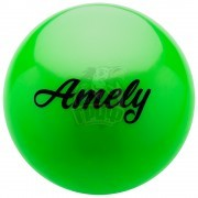 Мяч для художественной гимнастики Amely 190 мм (зеленый)