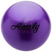 Мяч для художественной гимнастики Amely 150 мм (фиолетовый)