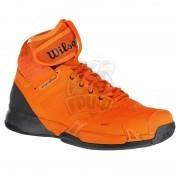 Кроссовки теннисные мужские Wilson Amplifeel (оранжевый/серый)