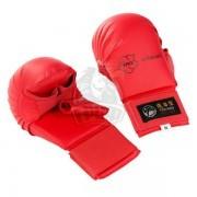 Перчатки каратэ с пальцем Tokaido WKF (красный)